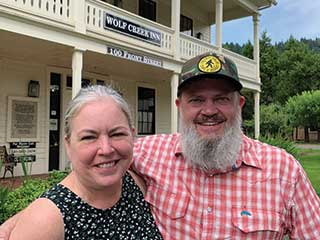 A Message from Wolf Creek Inn by Gesi and Andrew Shroyer